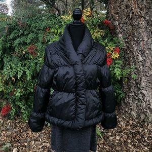 Black puff jacket by Converse, Size Jr. L